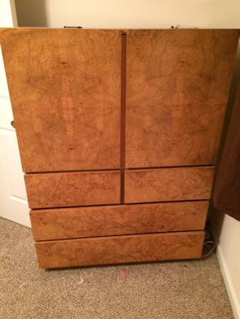 Mid Century Armoire     $200     View on Craigslist