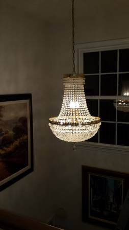 Gorgeous Entry Chandelier     $100     View on Craigslist