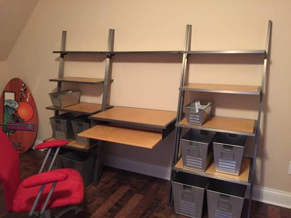 PB Teen Desk & Shelves     $350     View on Craigslist