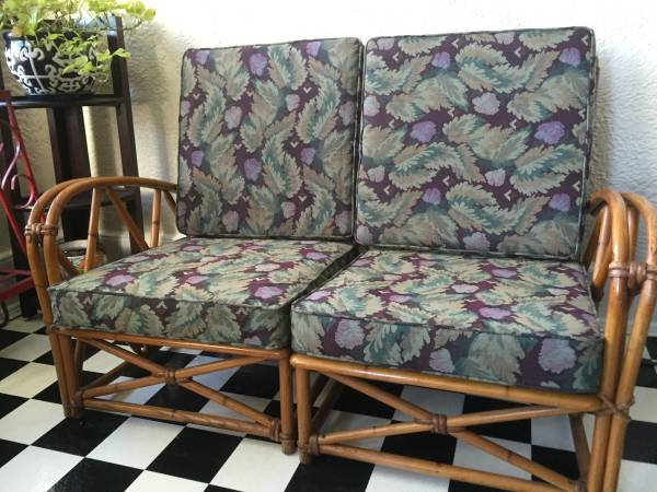 Bamboo/Rattan Loveseat     $60     View on Craigslist