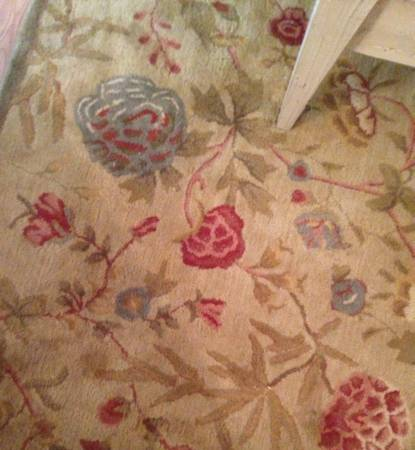 Pottery Barn 8' x 10' Rug     $75     View on Craigslist