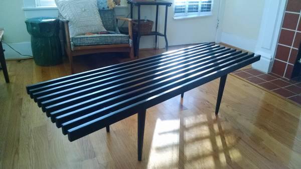 Mid Century Slat Coffee Table     $100     View on Craigslist