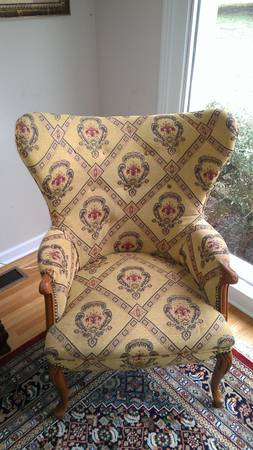 Antique Wingback Chair     $45     View on Craigslist