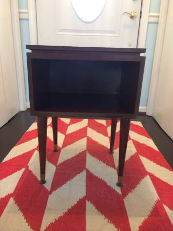 Mid Century Side Table $40 View on Craigslist