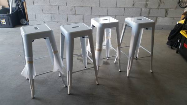 Set of 4 Metal Stools     $100     View on Craigslist