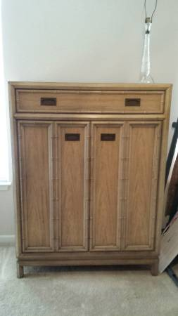 Faux Bamboo Armoire $175 View on Craigslist