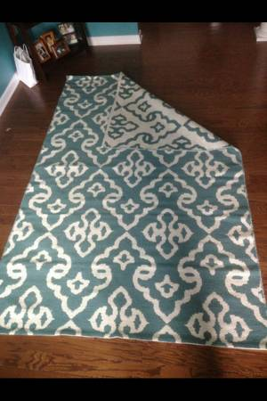 New 5' x 8' Rug $150 View on Craigslist