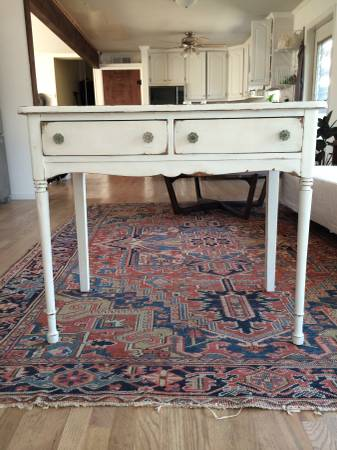 Vintage Desk/Console Table $150 View on Craigslist
