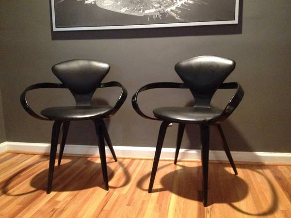 Pair of Norman Cherner Pretzel Chairs $650 These mid century chairs are a great find and if these are the real deal they are a good price. 1stdibs is selling a set for $2400. View on Craigslist
