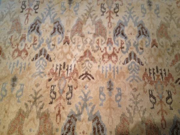8' x 10' Rug $75 View on Craigslist