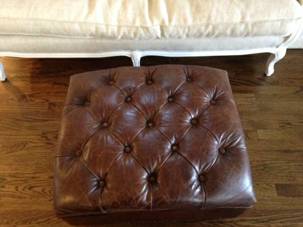 Restoration Hardware Tufted Ottoman     $400     View on Craigslist