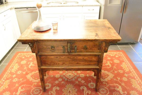 Kitchen Island/Console Table     $450     View on Craigslist