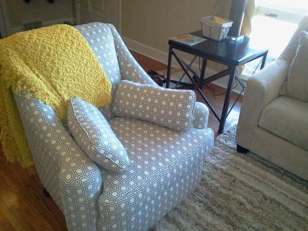 Upholstered Chair $150 View on Craigslist