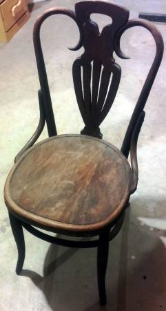 Antique Bentwood Chair $20 View on Craigslist
