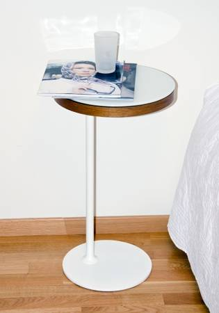 Ikea Stockholm Side Table     $50     View on Craigslist