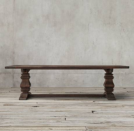 Restoration Hardware Trestle Table    $1200  This table retails for $3,095 at  Restoration Hardware .    View on Craigslist