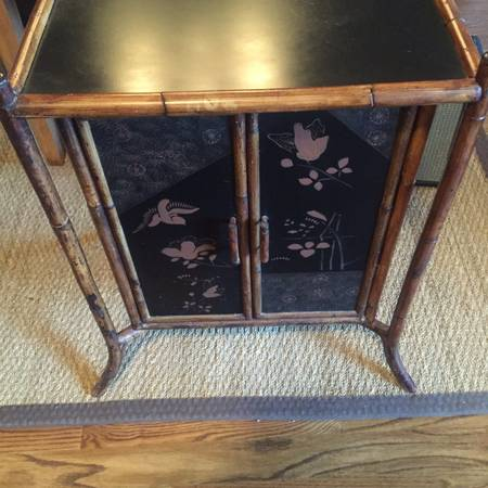 Vintage Faux Bamboo Cabinet     $75     View on Craigslist