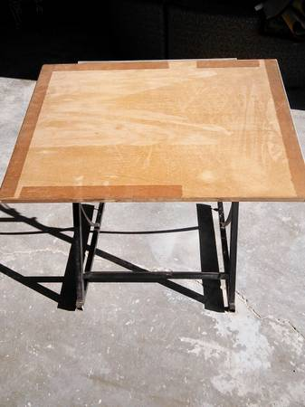 Drafting Table $30 View on Craigslist