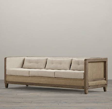 Restoration Hardware Deconstructed Sofa $1500 This sofa retailed for $2500. View on Craigslist