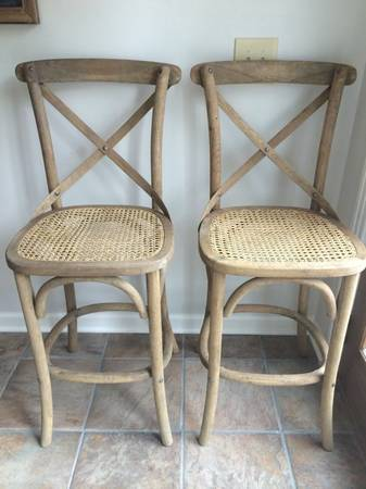 Pair of Restoration Hardware Stools     $300     View on Craigslist