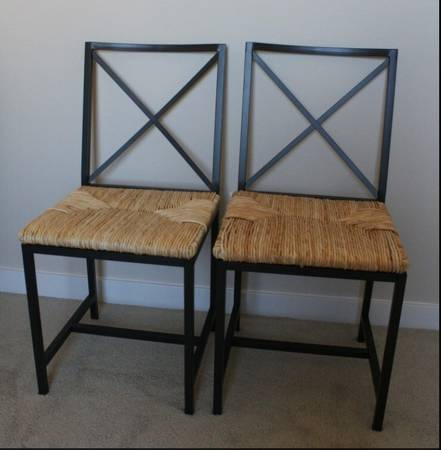 Ikea Dining Set     $70   This set includes a glass table and 4 chairs.    View on Craigslist