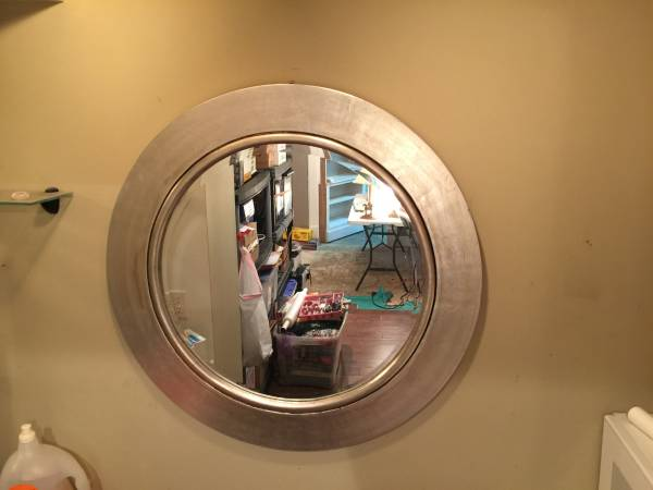 Round Mirror     $15     View on Craigslist