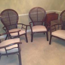 Set of 4 Wicker Chairs     $150     View on Craigslist