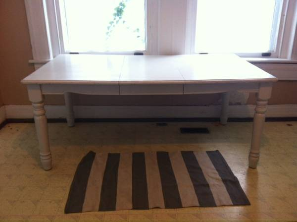 Kitchen Table with Leaf     $100     View on Craigslist