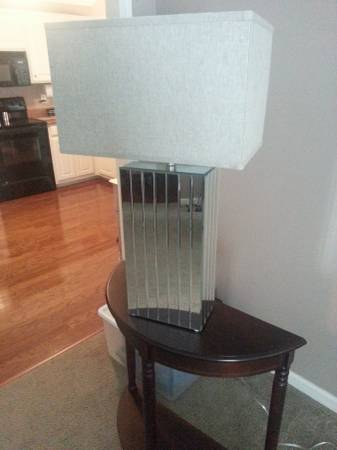 Pair of Mirrored Lamps     $100     View on Craigslist