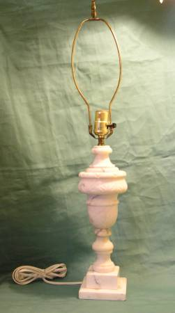 Vintage Marble Lamp     $45     View on Craigslist