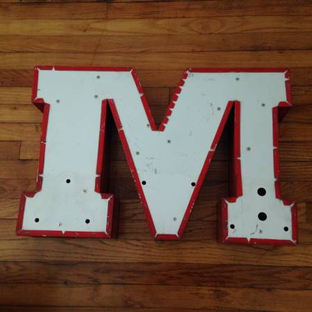 Antique Sign Letters $25 each View on Craigslist