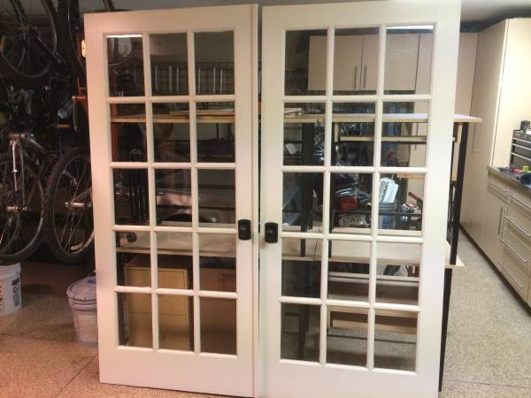 Pair of French Doors     $290     View on Craigslist