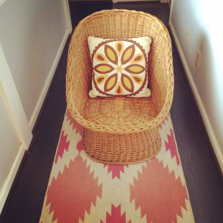 Vintage Wicker Chair      $60     View on Craigslist