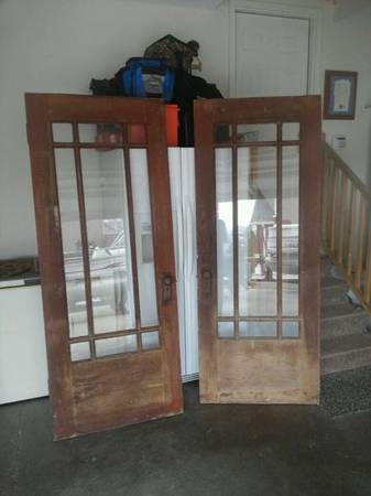 Pair of Antique Doors $250 View on Craigslist