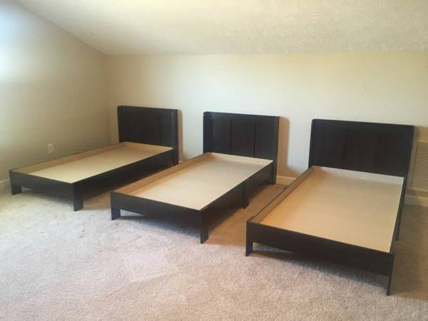 Twin Platform Beds $75 each View on Craigslist