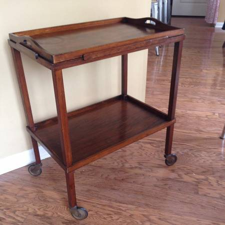 Antique Tea Cart $100 View on Craigslist