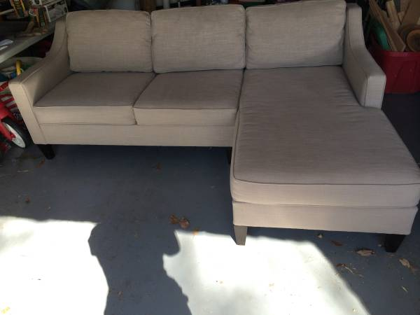 West Elm Sectional     $800     View on Craigslist