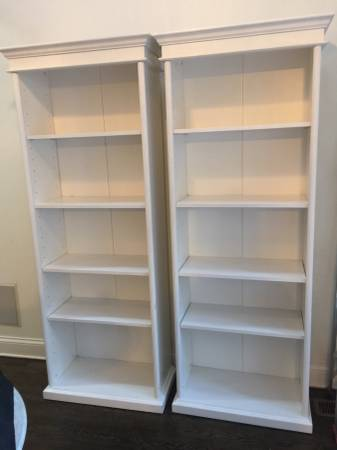 Pair of Bookshelves $175 View on Craigslist