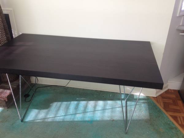 Modern Dining Table $150 View on Craigslist