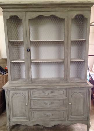 Refinished China Cabinet $175 View on Craigslist