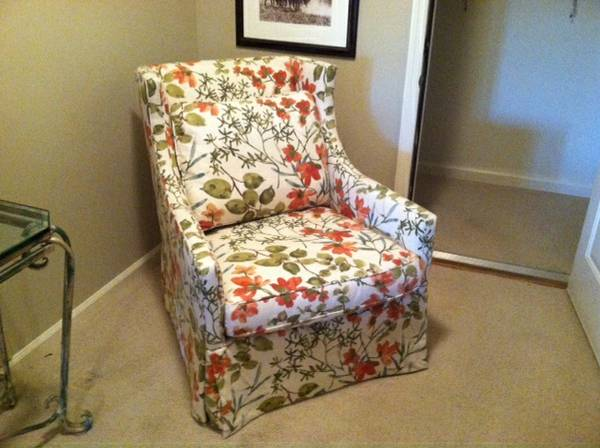 Pair of Chairs $1499 This is a brand new pair of upholstered chairs made by Lee Industries. View on Craigslist