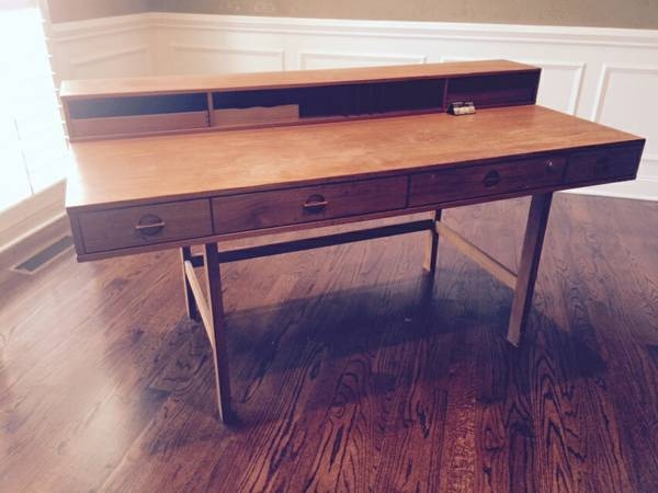 Teak Desk $175 View on Craigslist