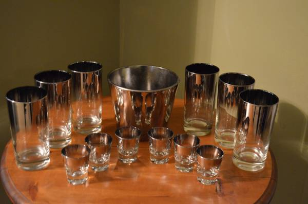 Vintage Barware Set $50 View on Craigslist
