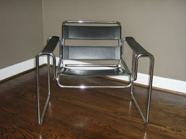 Wassily Inspired Chair $200 View on Craigslist