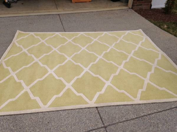 8' x 10' Wool Rug     $150     View on Craigslist