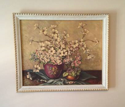 Vintage Dogwood Print     $25     View on Craigslist