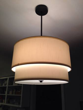 Drum Pendant Shade     $75     View on Craigslist