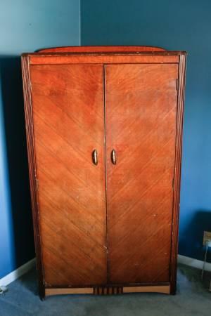 Antique Wardrobe     $75     View on Craigslist
