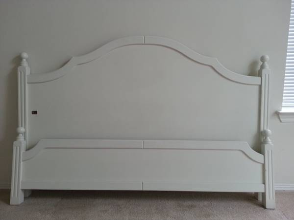 Queen Headboard/Footboard $50 View on Craigslist