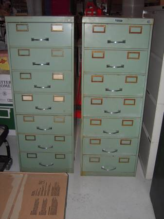 Pair of Metal Cabinets     $125     View on Craigslist
